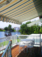 Retractable Deck Awning