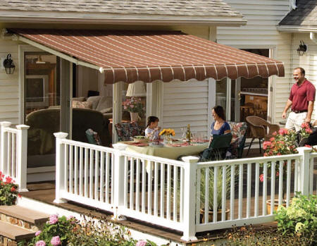 Sunsetter Retractable Awnings Nj Designing Windows Plus